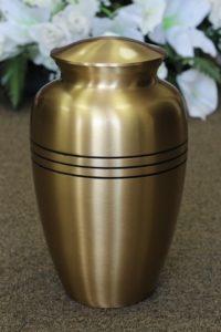 FM0602 Brass Metal Urn